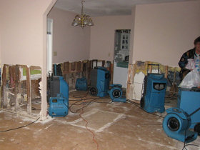 Flood Water Damage Restoration Services Ofallon IL
